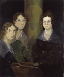 800px-The_Brontë_Sisters_by_Patrick_Branwell_Brontë_restored