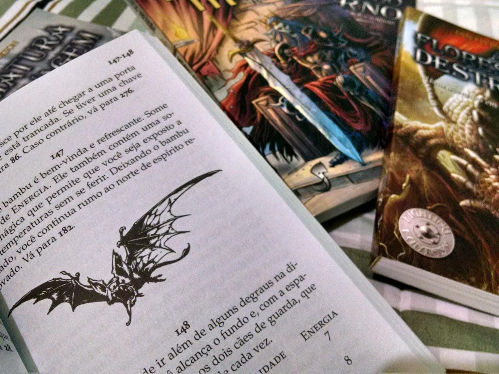Multiverso X: Livros-Jogos - Para conhecer vá para a página 46